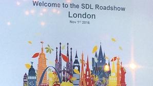 SDL Roadshow 2016